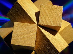woodyverse (m_laRs_k) Tags: macromondays madeofwood wood cube cd universe sciencefiction hmm hemm puzzle holzsteckspiel mlarsk
