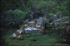 Sinfonia en verde. (antoniocamero21) Tags: color verde rio foto sony paisaje atardecer cascada agua rocas vegetación transparencia guadalquivir sierra cazorla andalucía jaén
