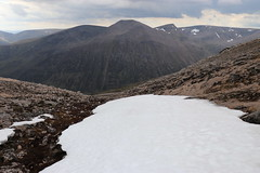 Summer Snow (steve_whitmarsh) Tags: aberdeenshire scotland scottishhighlands highlands landscape mountain hills snow topic