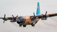 Royal Jordanian Air Force | Hercules C-130 | 345 | FFD (Allan Portergill Photography) Tags: royal jordanian c130 arrival fairford international air tattoo 2019 force | hercules 345 ffd