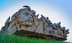 Traces of war. (denkuznets81) Tags: donetsk donbass memorial war history ww2 саурмогила донбасс донецк торез памятник война