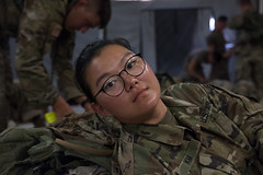 11th Regiment Advanced Camp   Kyle Gallagher Embedded (armyrotcpao) Tags: cst2019 11thregiment cadetsummertraining cadets fortknox landnavigation nightlandnav resting sleeping