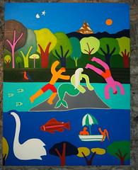 Promenades  enchantées a Genève 2016_Cristina Rodriguez_P6300501 (tgrauros) Tags: cristinarodriguez genève ginebra paintings pintura suïssa exhibitions pinturas