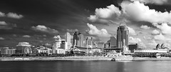 Cincinnati Skyline (yorgasor) Tags: cincinnati sony nikon ais 50mm f12 a7r2 a7rii city skyline ohio river