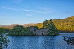 Loch an Eilean Castle ~ Rothiemurchus ~ Explored (Margaret S.S) Tags: rothiemurchus loch an eilean castle scotland