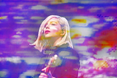 Happy Birthday, Molly Rankin! (Alvvays) (kirstiecat) Tags: multipleexposure happybirthday colours colors canadian band music live concert alvvays cinematic beautiful woman