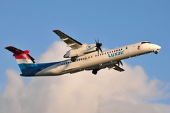 LX-LQC Dash 8-402 Luxair (eigjb) Tags: dublin airport eidw ireland collinstown international transport airliner aircraft airplane aeroplane plane spotting aviation 2019 turboprop lxlqc dash8 dhc8402 dh8d luxair luxembourg airlines dehavilland canada bombardier prop