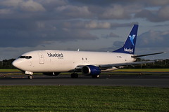 TF-BBl Boeing 737 Bluebird Nordic (eigjb) Tags: dublin airport eidw ireland collinstown international jet transport airliner aircraft airplane aeroplane plane spotting aviation 2019 tfbbl boeing 737 bluebird nordic cargo freighter converted