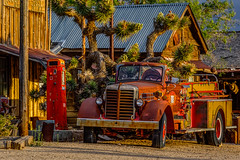 Rural Nevada (Jeff Sullivan (www.JeffSullivanPhotography.com)) Tags: fire engine mojave desert historic mining ghost town central nevada usa abandoned rural decay landscape travel photography canon eos 5dmarkiv photos copyright jeff sullivan may 2019 photomatix hdr joshua trees