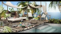 Seaside calm (Hara | kumuckyhara) Tags: kumuckyhara secondlife kustom9 nutmeg concept} bellequipe