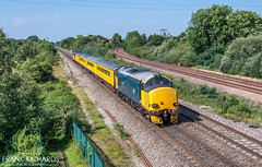 37610 | North Staffs Jn | 25th July '19 (Frank Richards Photography) Tags: class37 class 37 37610 br blue train test colas harry needle network rail uk england derbyshire 25th july 2019 north staffs junction stenston findern willington 1q96 0818 derby rtc whitland nikon d7100