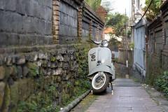 My Vespa (Ali Sabbagh) Tags: vespa scooter motorcycle street light travel world asia colors canoneosr day transportation nostalgic home driving walls wheels wallpaper desktop