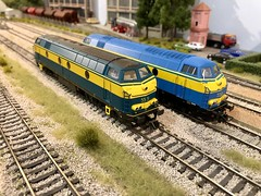 Marklin v B Models SNCB 55 - HO Scale (Neil Sutton Photography) Tags: 5505 5531 vanbiervliet bmodels marklin 187 belgianrailways hoscale sncb