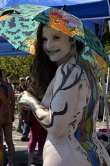 20190720 Body Painting Day at Bushwick - 419_M_01 (gc.image) Tags: grenvillechengphotos nyc event art bodypainting painting brooklyn bushwick mariahernandezpark