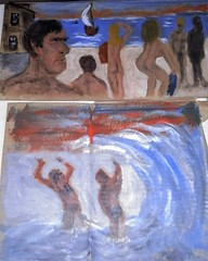 beach scenes (rawart90) Tags: beachscene nudes nude expressionism rawart