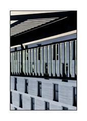enigma fence (Armin Fuchs) Tags: arminfuchs lavillelaplusdangereuse würzburg grombühlbrücke upsidedown fence diagonal stripes niftyfifty hff