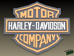 Harley Logo Complete (Playwell Bricks) Tags: lego legotechniques legoideas legophotography legopictures legoart moc motorcycle harleydavidson harleydavidsonlego art design creativity toys toyphotography