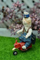 Sir Rabbit (air_dan) Tags: maria kushnir arttoy teddy rabbit