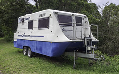 What do you get when you cross a caravan with a houeboat? (Paul Leader - Paulie's Time Off Photography) Tags: aerovanaquavan built2006 caravan houseboat aerovan aquavan olympus olympusem10 paulleader ship boat vessel harbour ferry cruise cruiseship holiday tourist passenger transportation transport starboard stern bow craft berth mooring handle diesel engine draft beam length deck route gangway plank forward touring vehicle rv mobilehome motorhome camper greynomad newsouthwales nsw australia