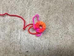 One one-round square (crochetbug13) Tags: crochet crocheted crocheting crochetsquares grannysquares flamboyantafghan crochetblanket grannysquareblanket crochetafghan grannysquareafghan