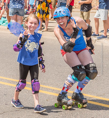 North Country Bruisers (scattered1) Tags: july4th wings helmet marquette rollerderby upperpeninsula parade michigan summer girl smile rollerskates northcountrybruisers northernmichigan woman northern independenceday mi pads 2019 wave skates