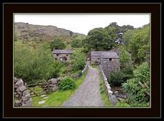 The old Eskdale Mill (edenseekr) Tags: england stonebridge digitalillustration photopainting touringwithgoogleearth
