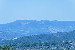 GUARDANDO TOLFA   ---   LOOKING AT TOLFA (Ezio Donati is ) Tags: panorama landscape cielo sky alberi trees montagne mountain storia history italia lazio tuscia parcodimonterano