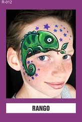 R-012 RANGO (BEYOND Face Painting) Tags: reptile reptiles amphibians amphibian chameleon