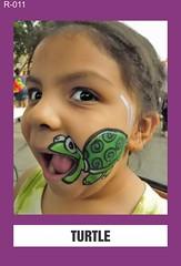 R-011 TURTLE (BEYOND Face Painting) Tags: reptile reptiles amphibians amphibian