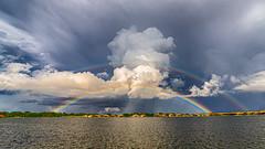 Seeing Double (Explore 7-26-2019) (Mi Bob) Tags: rainbow toscanaisles