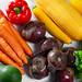 Ripe fresh vegetables. The concept of harvest