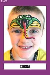R-009 COBRA (BEYOND Face Painting) Tags: reptile reptiles amphibians amphibian