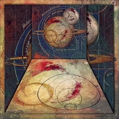 Cosmos Illustration (jimlaskowicz) Tags: jimlaskowicz vintage art space cosmos universe illustration