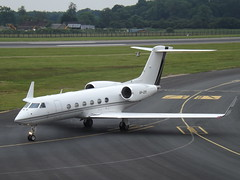 VP-CMY Gulfstream G450 (Private Operator) (Aircaft @ Gloucestershire Airport By James) Tags: luton airport vpcmy gulfstream g450 private operator bizjet eggw james lloyds