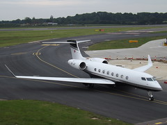 HB-JUF Gulfstream G650 (Swiss Jet Ltd) (Aircaft @ Gloucestershire Airport By James) Tags: luton airport hbjuf gulfstream g650 swiss jet ltd bizjet eggw james lloyds