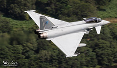 RAF Typhoon FGR.4 ZK357 low level at Ullswater (NDSD) Tags: low level typhoon eurofighter t3 ullswater cumbria flying jet raf lake district plane sky aircraft aviation bae systems tarnish warton water waterlocked nato