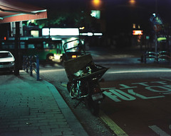 :z (june1777) Tags: snap street seoul night light bokeh pentax 67 105mm f24 kodak portra 800