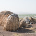 Lake Turkana shore -  fisherman's hut