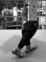 14 Antonio Guijarro (espaciosparaelarte) Tags: arte artecontemporáneo bellasartes blancoynegro cultura comunidaddemadrid creación exposición exposiciones espaciosparaelarte calle universos vuelo paloma hoja agua gota mano sombra ojo papel detalle contraste díptico davidjiménez cielo