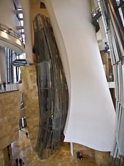 Futuristisch / Futuristc # 27 (schreibtnix on'n off) Tags: reisen travelling europa europe spanien spain bilbao gebäude building guggenheimmuseum frankogehry futuristisch futuristc olympuse5 schreibtnix