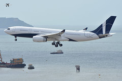 Comlux Aruba Airbus A330-243 P4-MLO. (* Raymond C.*) Tags: comlux aruba airbus a330 a333 p4mlo hkg vhhh