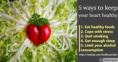 5 ways to keep your heart healthy  | Healthy heart - cardiac surgeon in Chennai (realpriya55) Tags: best heart surgeon chennai how keep healthy specialist strong top 10 cardiologist hospital preventions for disease pediatric diet plan famous improve health naturally good foods brain lady have life leading ways your make 5