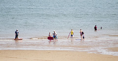 Fun in the sun (Gill Stafford) Tags: gillstafford gillys image photograph wales northwales conwy colwynbay sunshine fun holidays children seaside resort beach sands