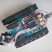 Kettenfahrzeug Roboter gesteuert von einem Einplatinenrechner