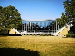 Schwimmoper (Berliner1963) Tags: deutschland germany wuppertal elberfeld architektur architecture 1950er schwimmbad schwimmoper