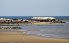 Rhos on Sea harbour (Gill Stafford) Tags: gillstafford gillys image photograph wales northwales conwy rhosonsea harbur lowtide sands wall sea