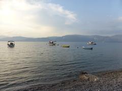 Λαμπίρι!!P1080523 (amalia_mar) Tags: lambiri achaia greece sea sky boats clouds mountains beach coast blue bluefriday landscape sundaylights water fantasticmonday