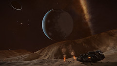 IC 1396 Sector RU-F d11-7 (Earth-Like Dance With Giant) 4 (Cmdr Hawkshadow) Tags: aspexplorer apollo 11 50th anniversary expedition elitedangerous