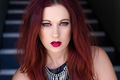 Portrait - Ellie (SDG-Pictures) Tags: edgy editorial makeup redhair redhead eyes portrait beauty beautiful model modeling notalonephotos photooftheday