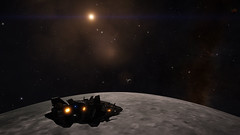 Earth & Moon 1 (Cmdr Hawkshadow) Tags: aspexplorer apollo 11 50th anniversary earth sol moon elitedangerous
